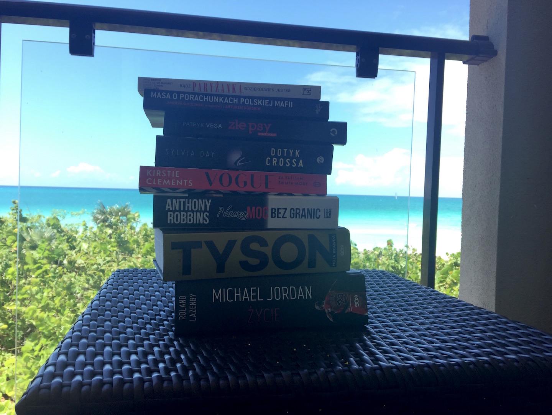 książki na wyjazd