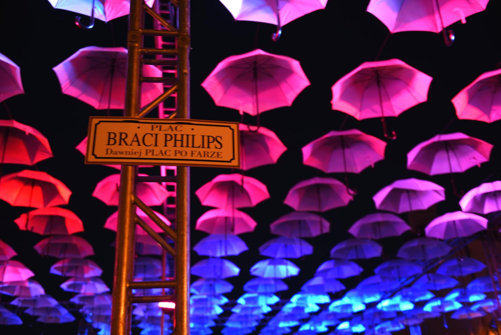 parasolki kolor