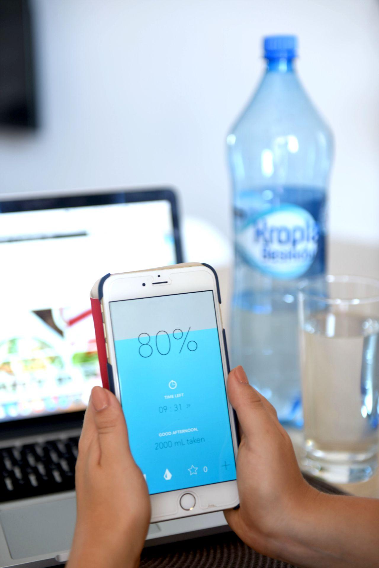aplikacja water daily