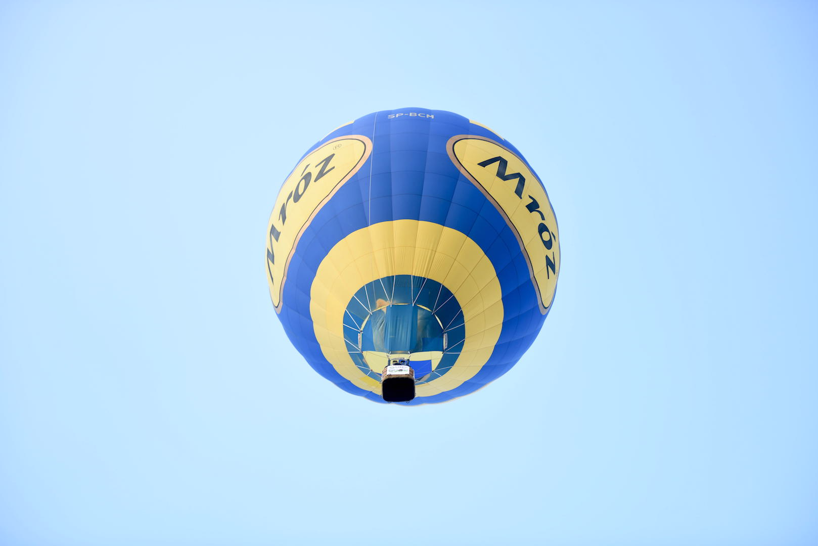 balon w powietrzu