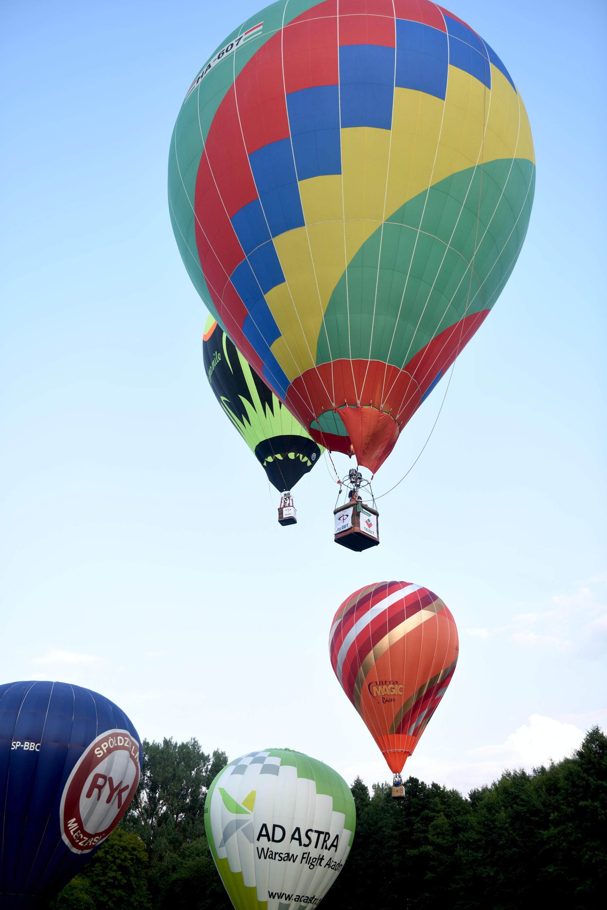 balony gazowe