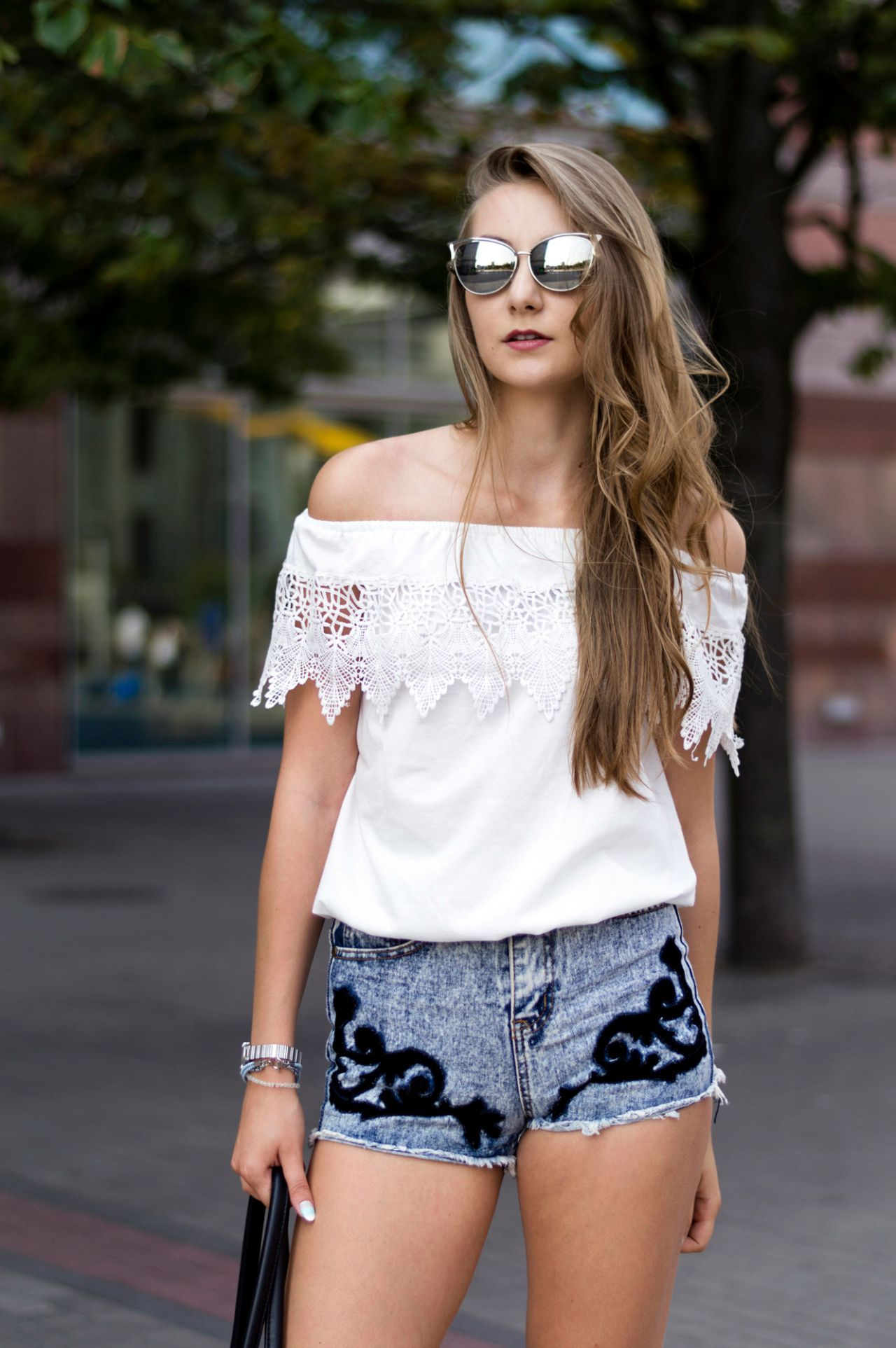 casualowa stylizacja street fashion