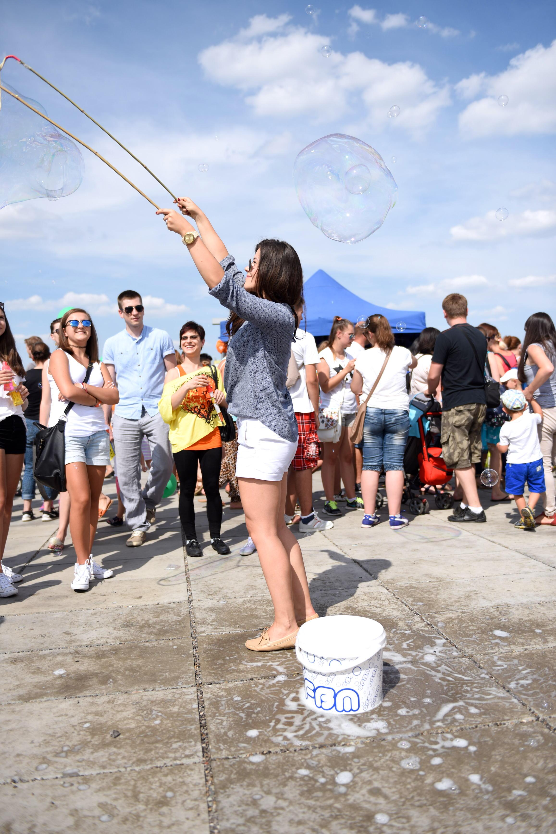 festiwal baniek mydlanych lublin