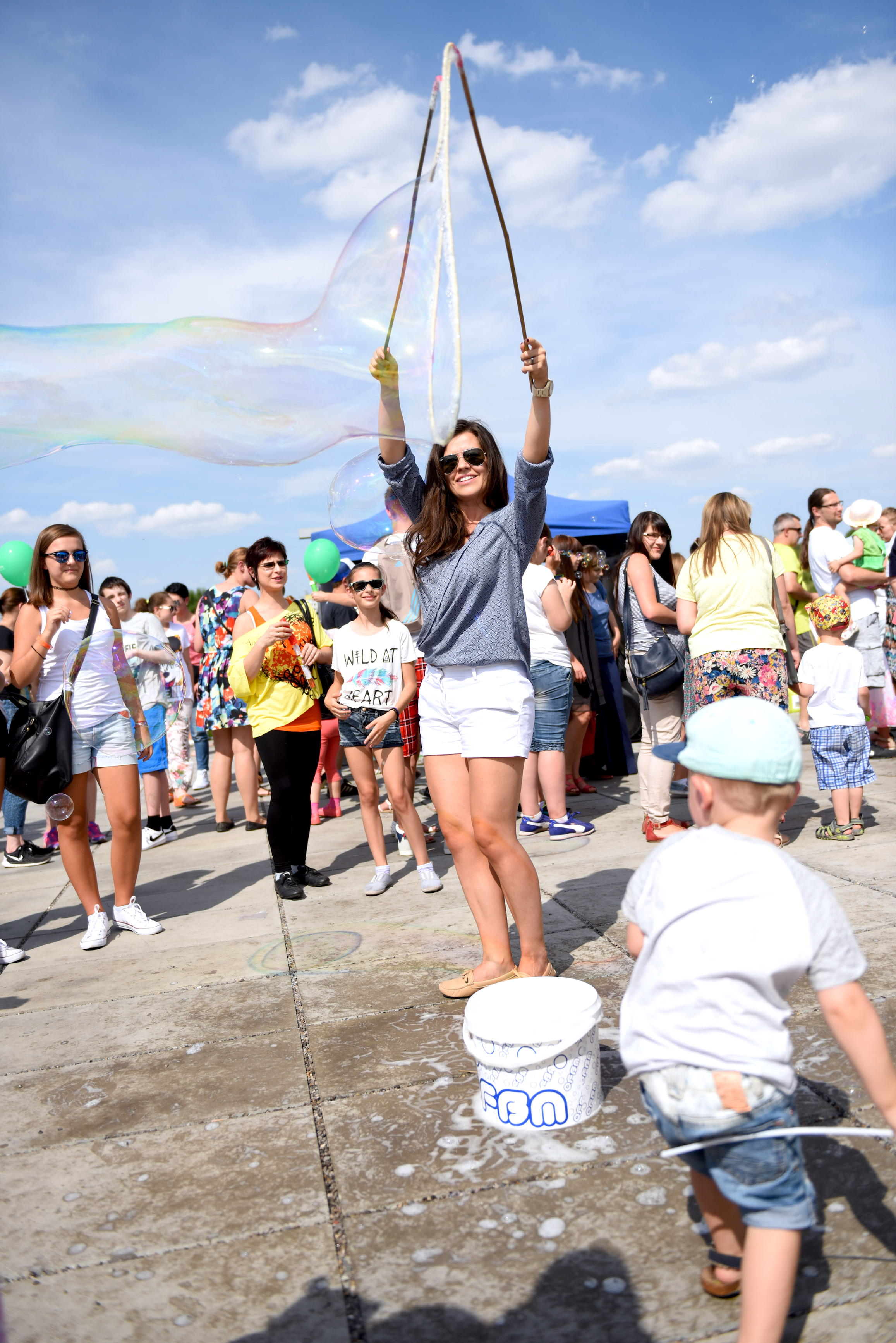 festiwal baniek mydlanych w lublinie