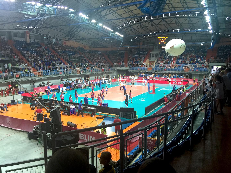 mecz siatkówka kobiet