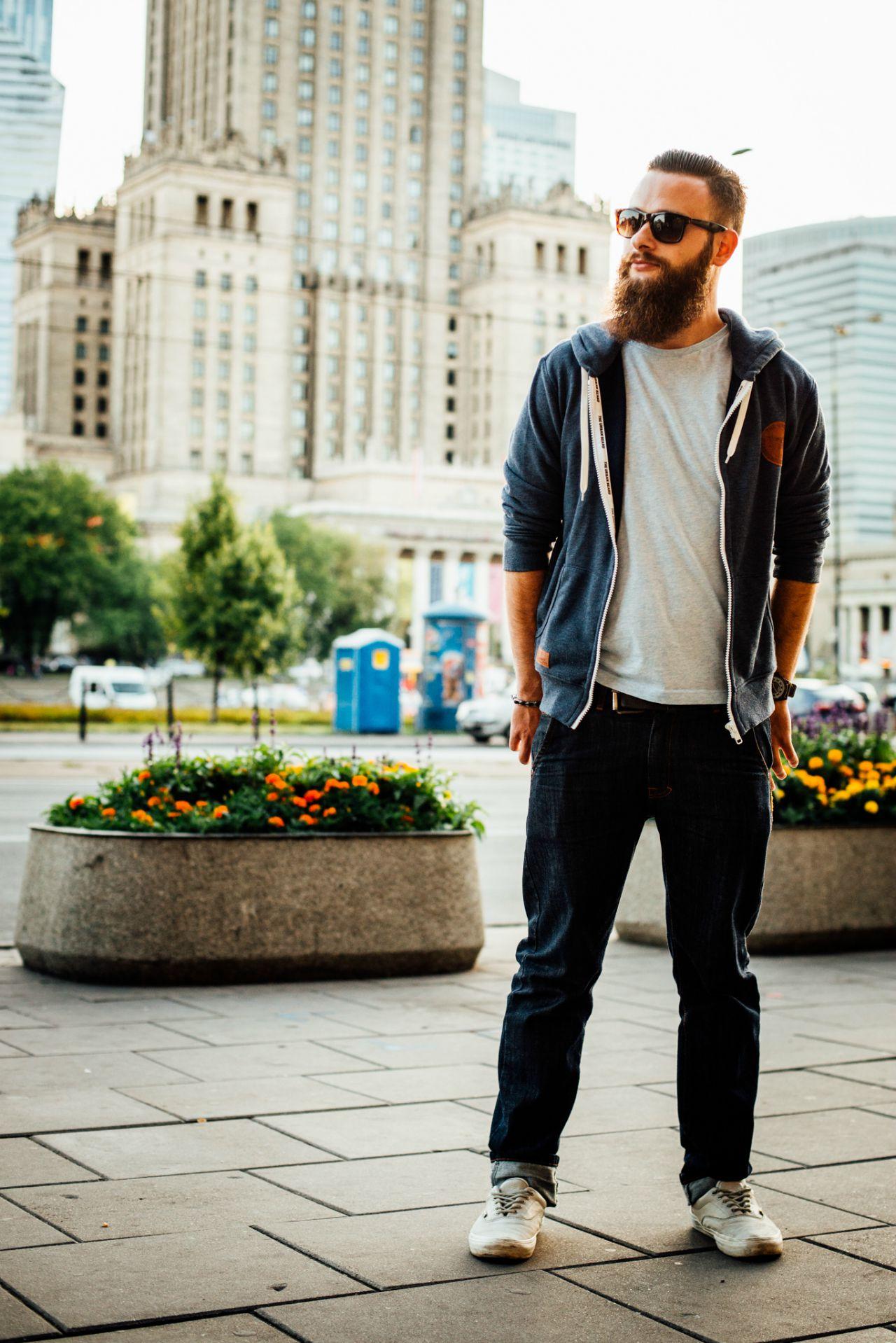stylizacje street fashion mężczyźni