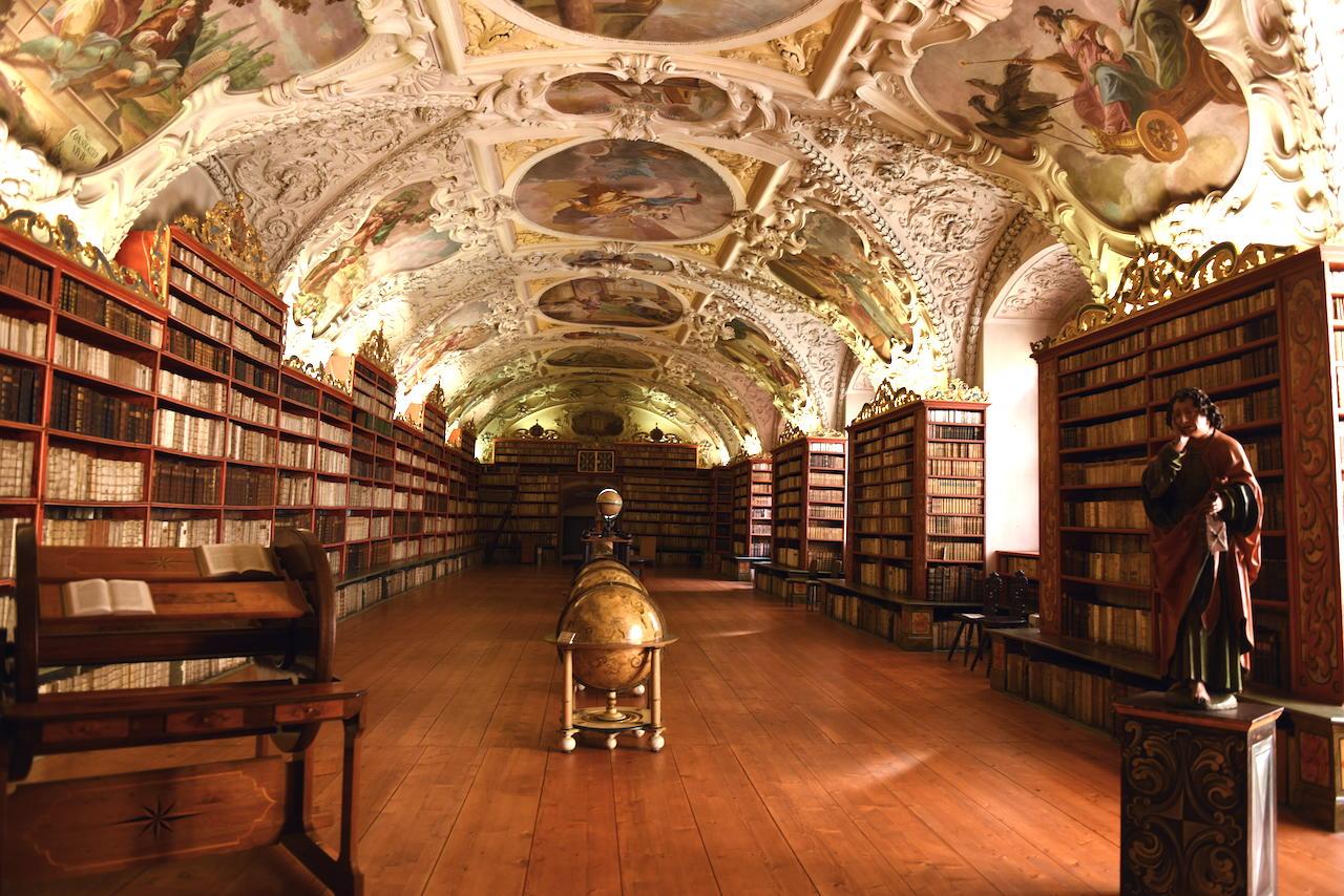 praga biblioteka