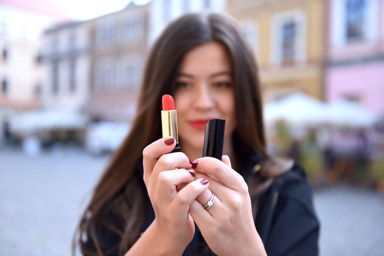 szminka lancome czerwona