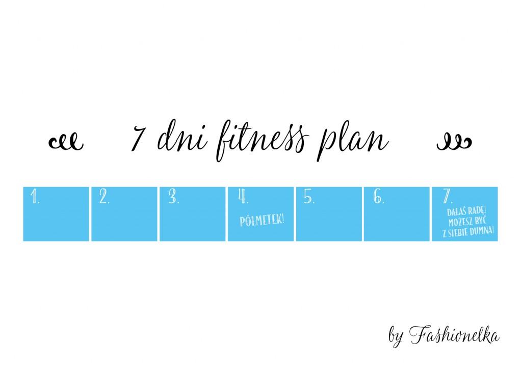 7 dni fitness plan tabelka