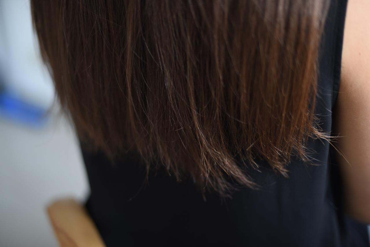 końcówki włosów obcinanie