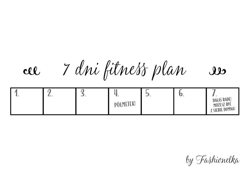 tabelka 7 dni fitness plan