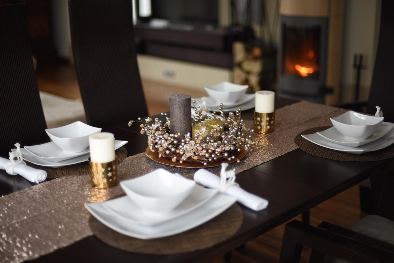 wigilijny stół