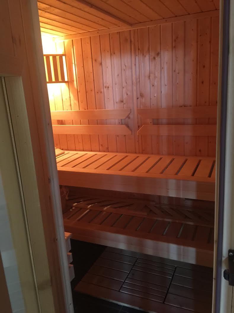 nasza mini sauna :)