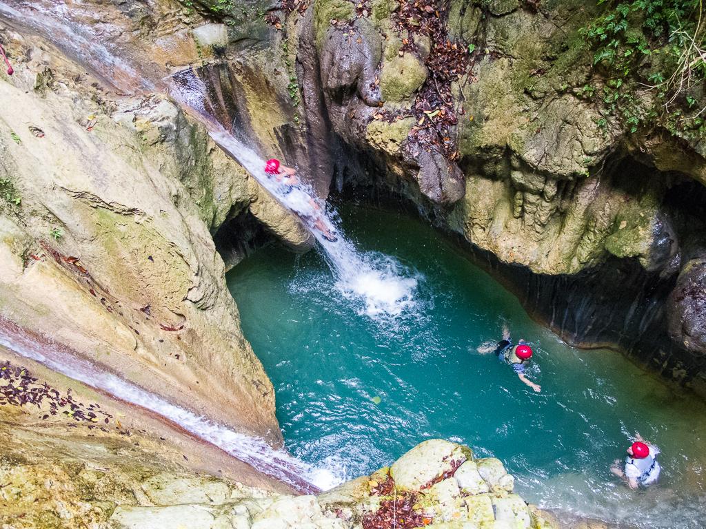 damajagua wodospady