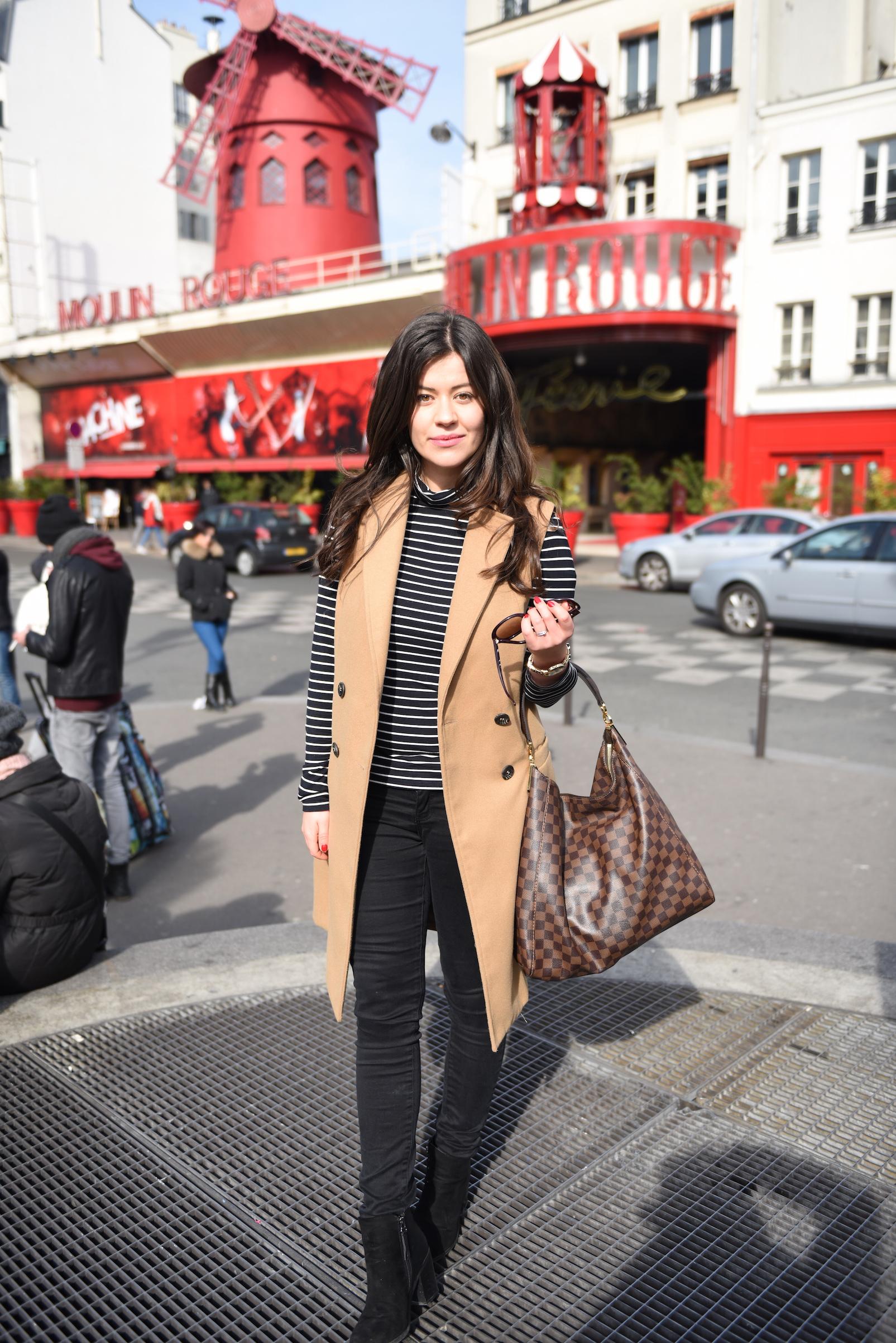 stylizacja w paryskim stylu