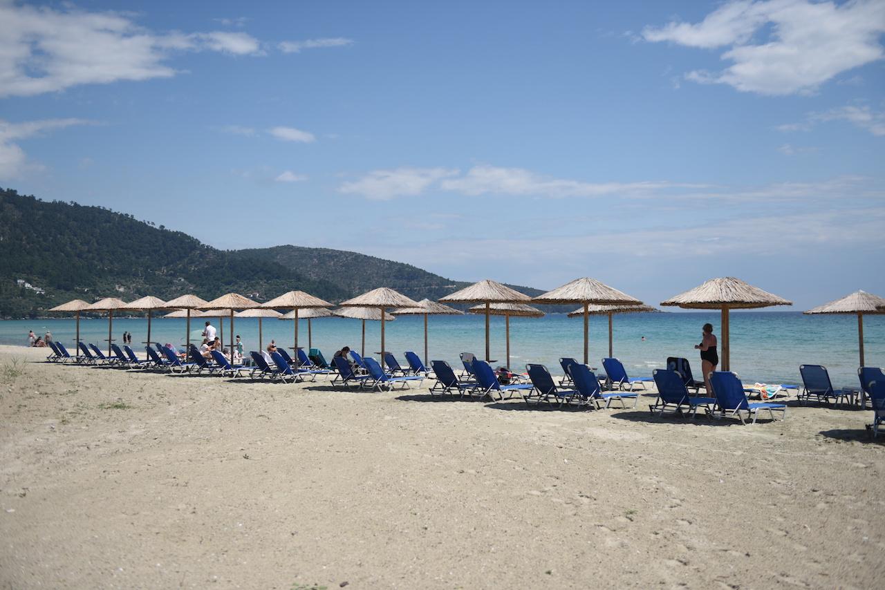 golden beach thassos plaża