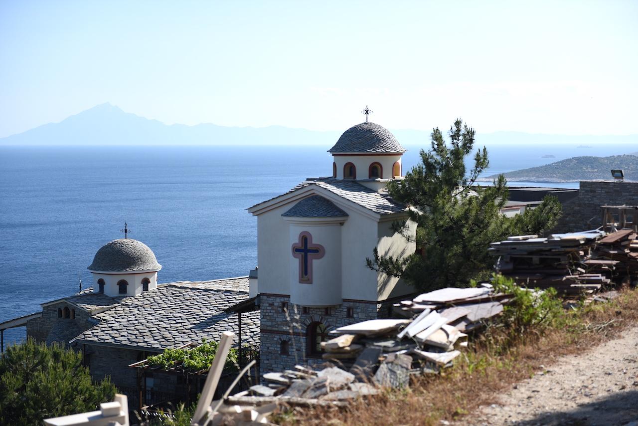 klasztor Michała Archanioła Thassos