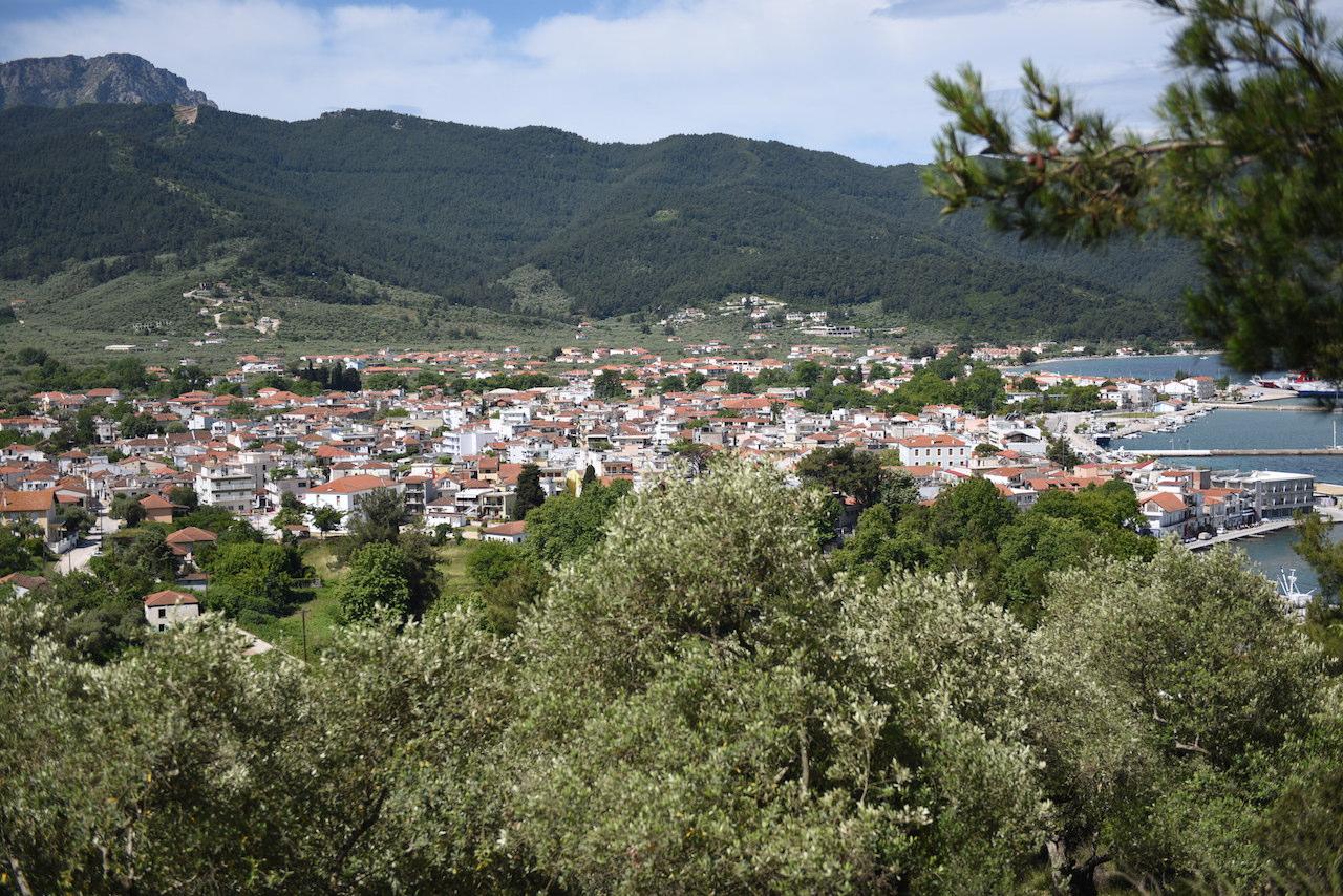 limenas panorama miasta