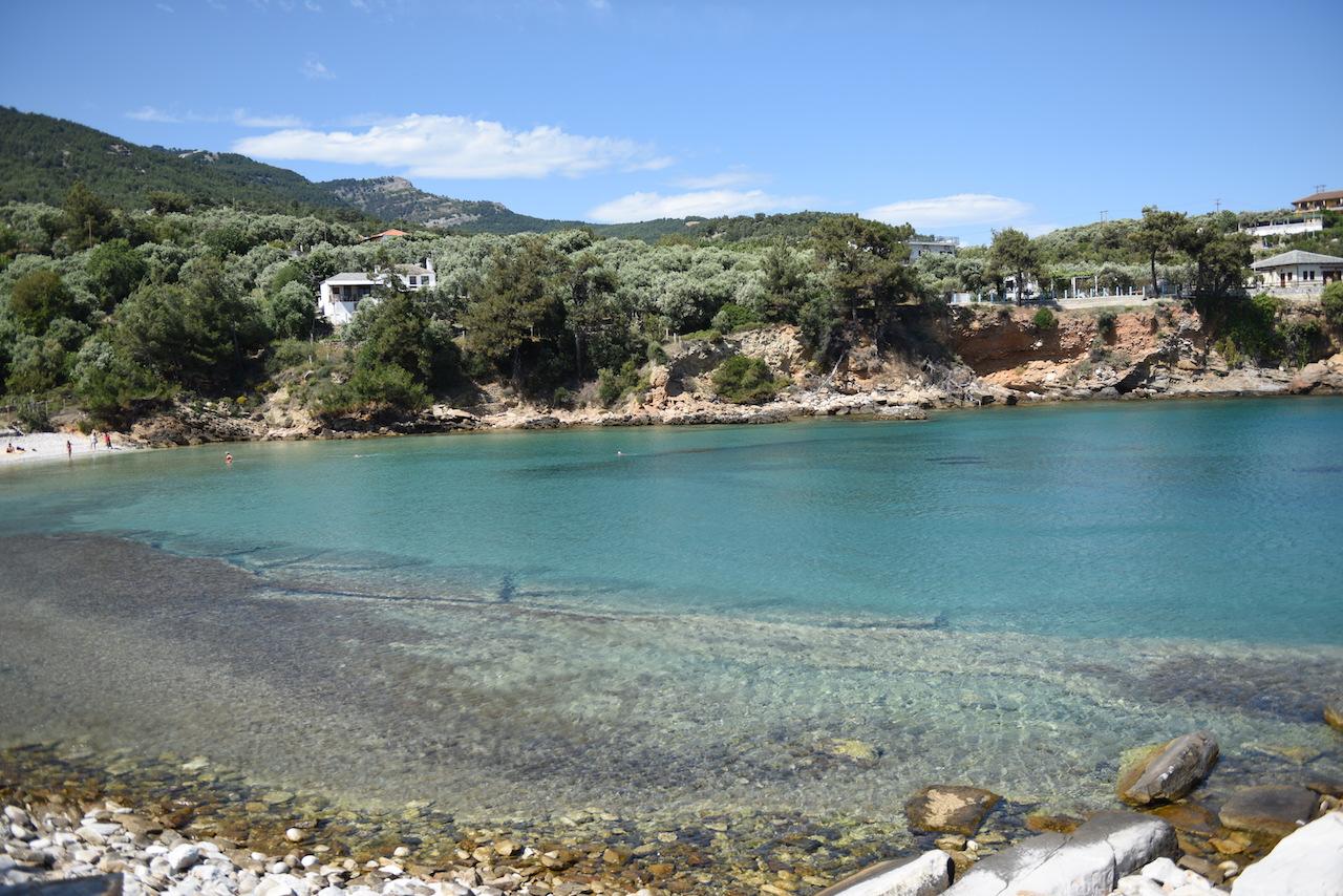 plaża aliki thassos