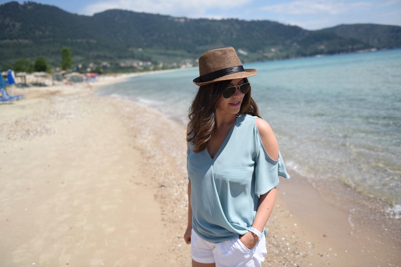 plaża golden beach thassos