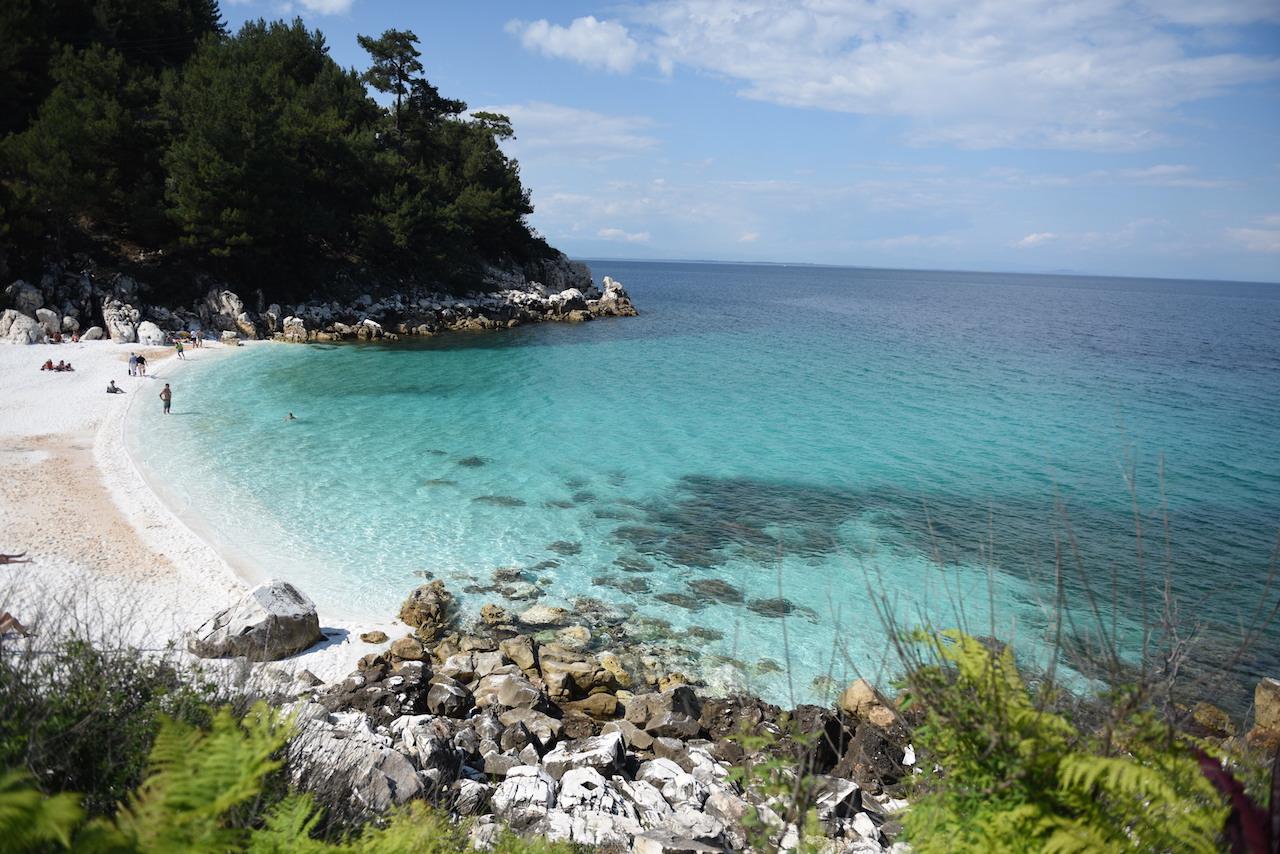 saliara beach best beach on thassos