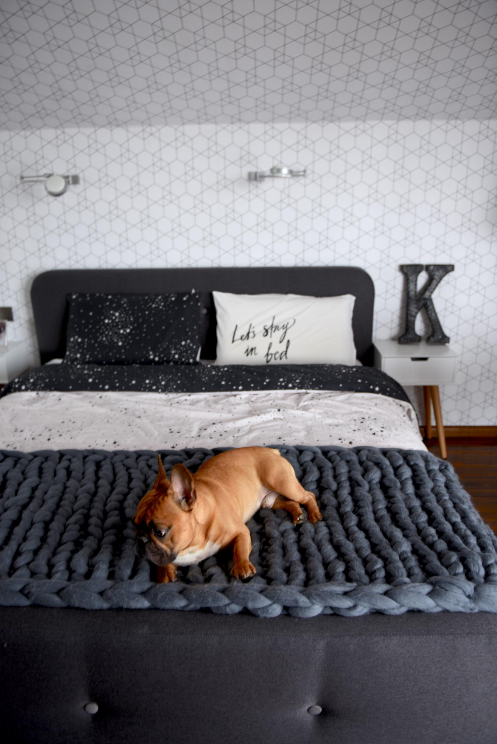 sypialnia aranżacja skandi