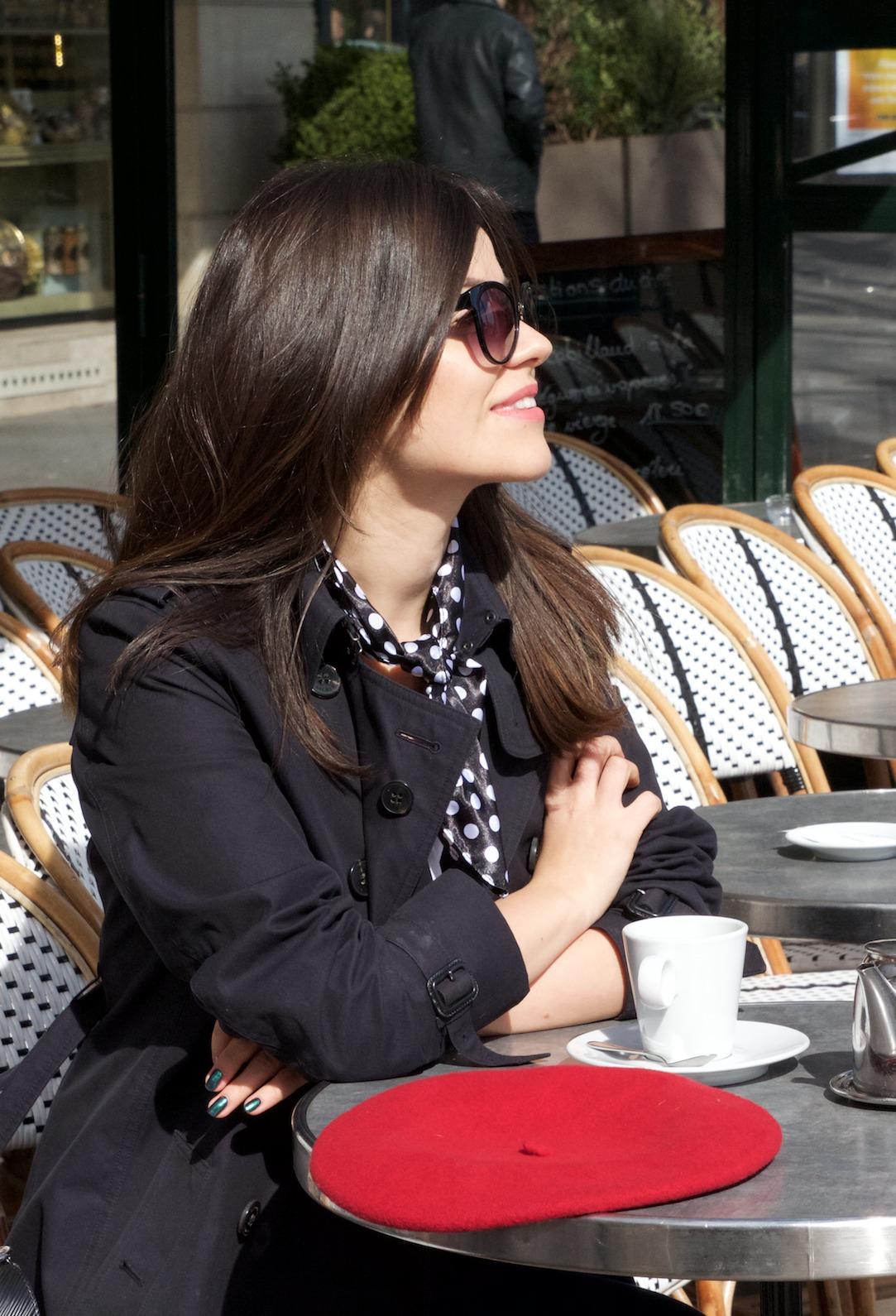 paryż kawiarnia
