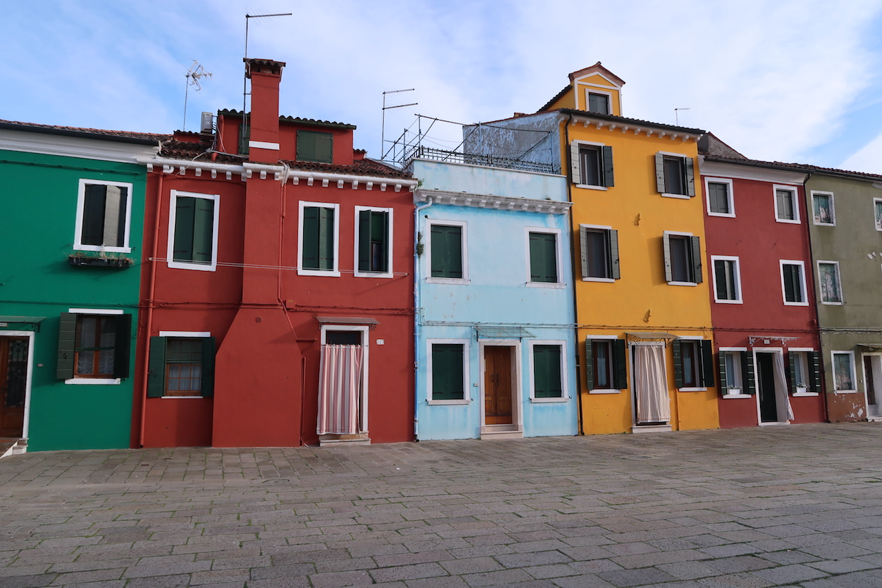 kolorowe domy burano