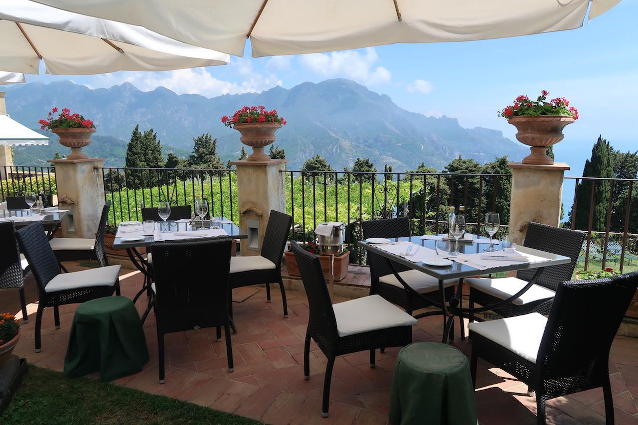 restauracja villa cimbrone