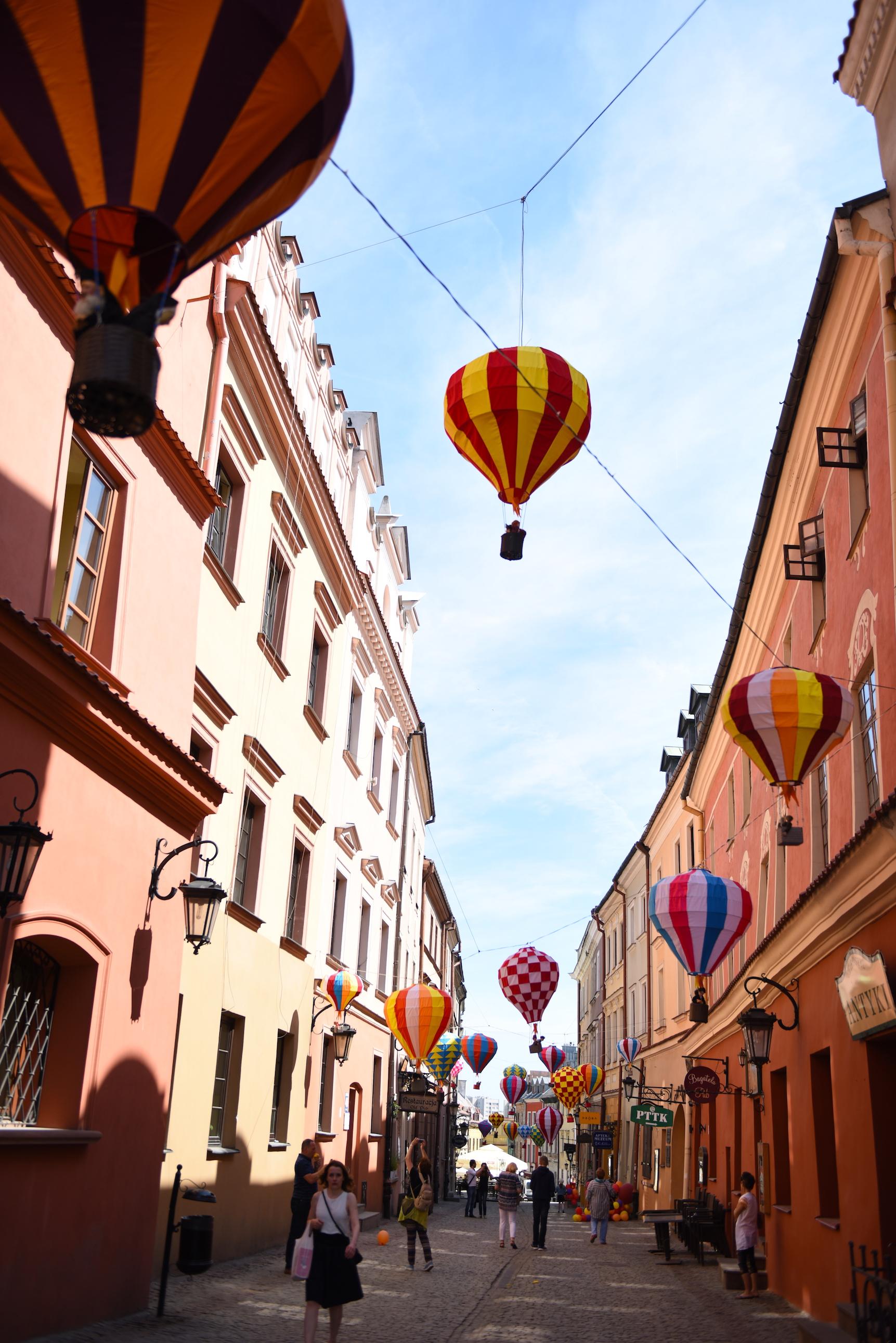 balony lublin ulica