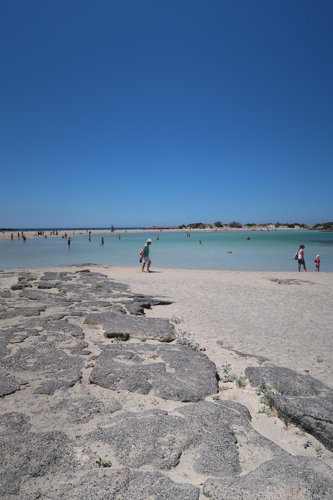 plaża elafonissi zdjęcia