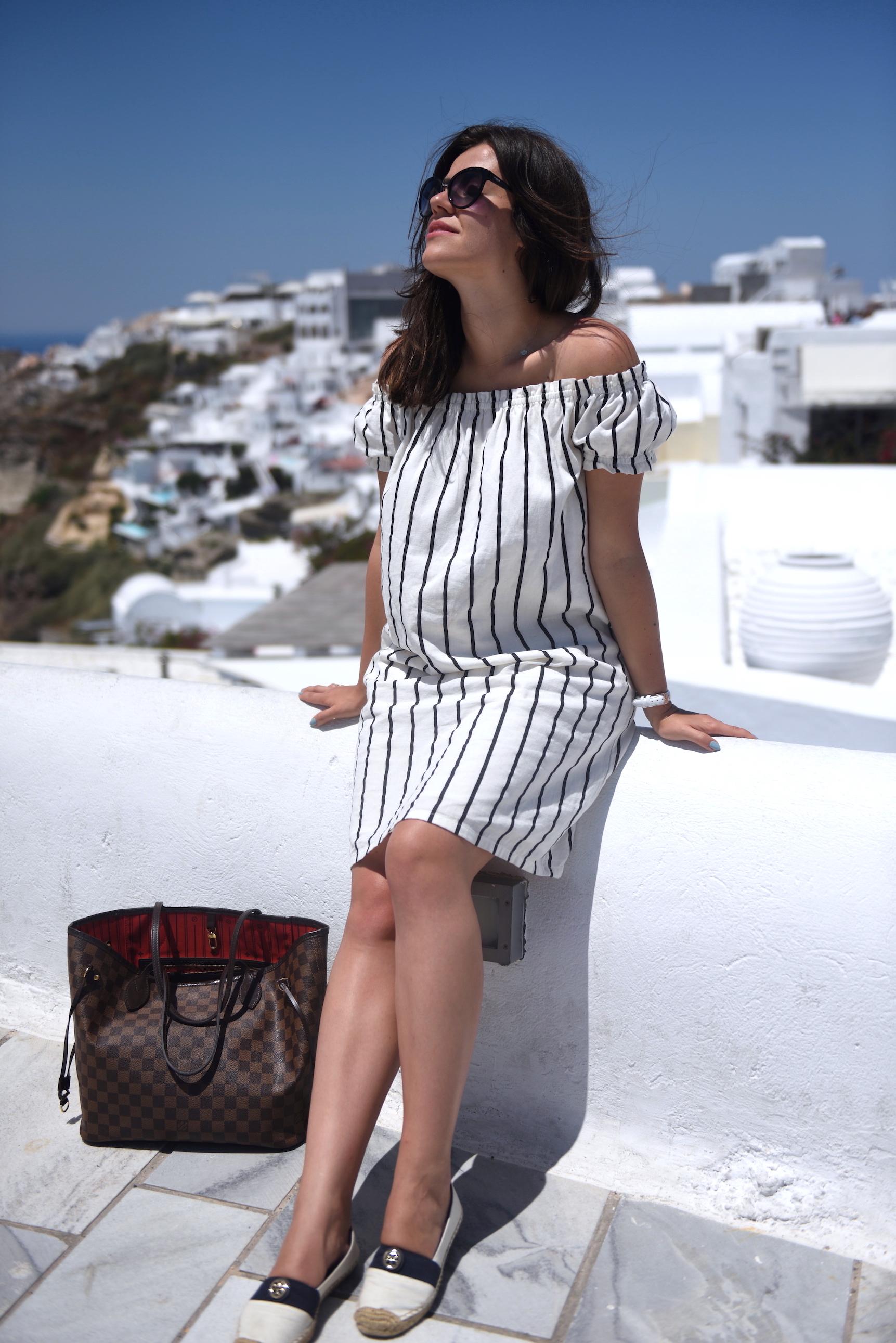 sukienka w paski answear