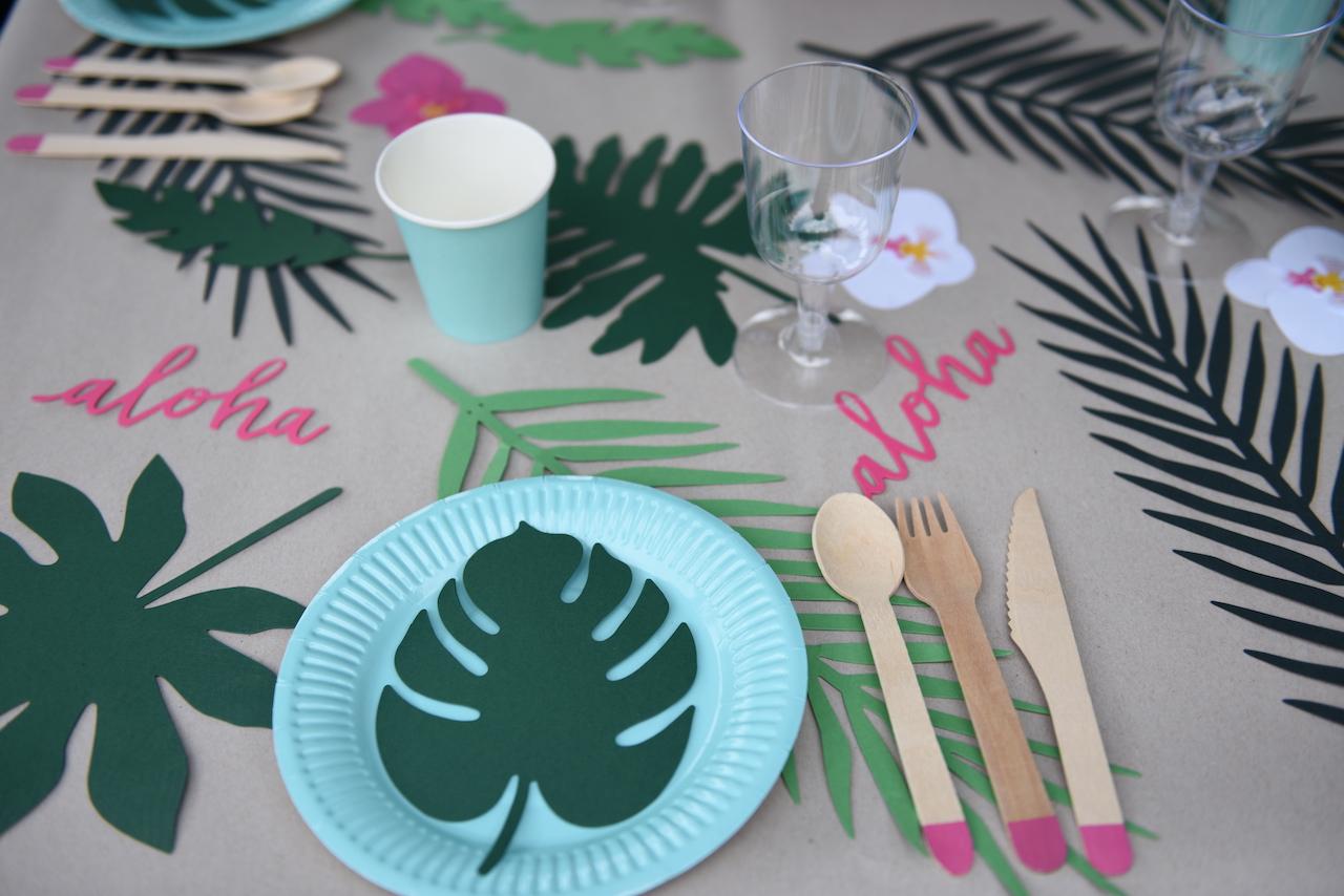 dekoracja stołu party deco