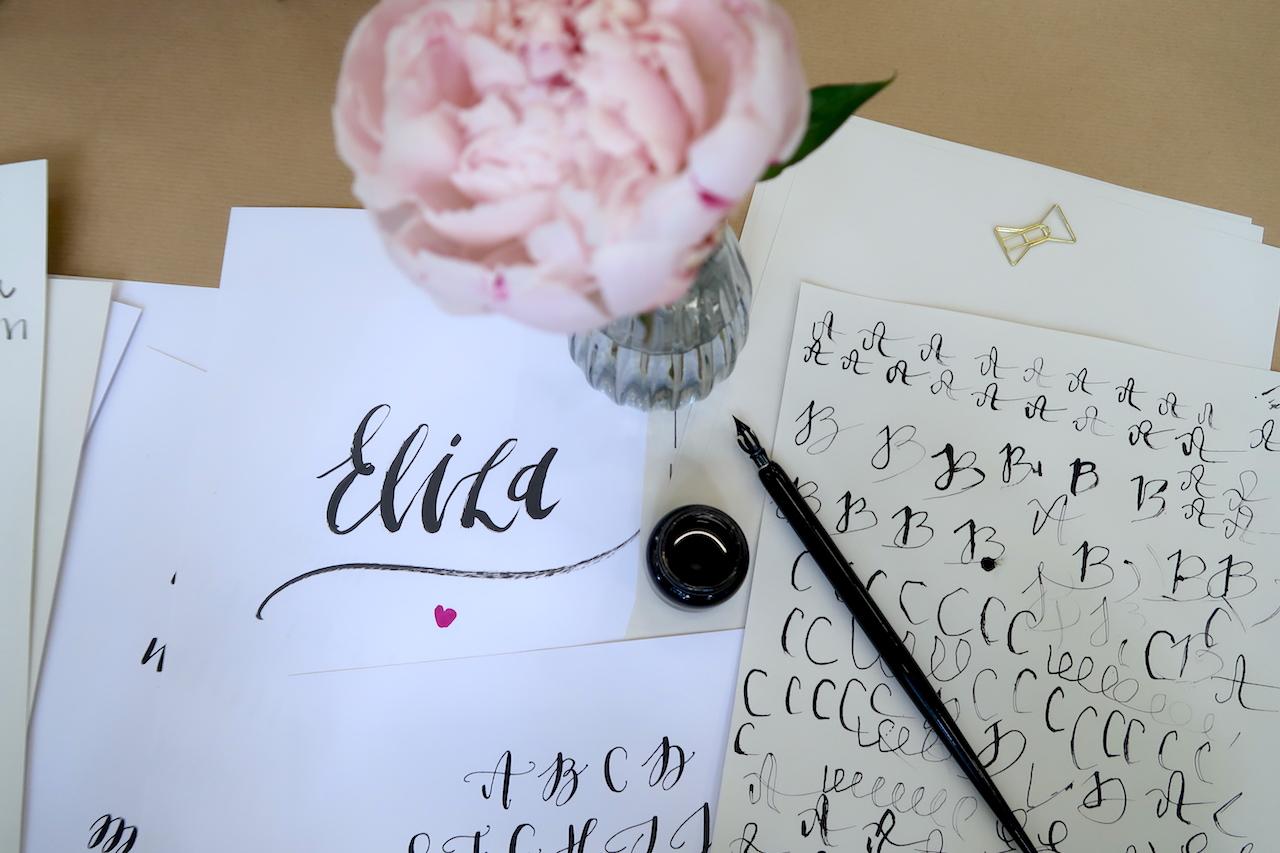 мастер-классы по современной каллиграфии