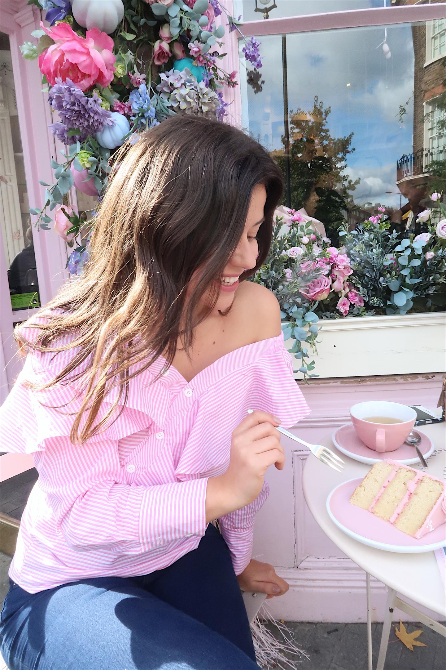 cakes at peggy porschen london