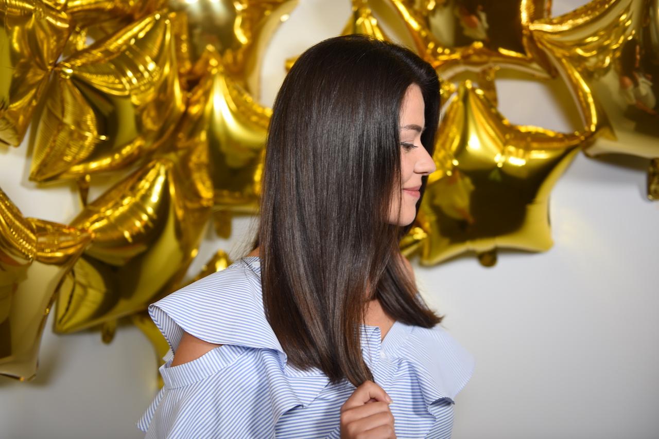 włosy gloss