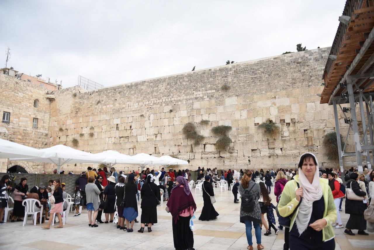 ściana płaczu jerozolima zdjęcia