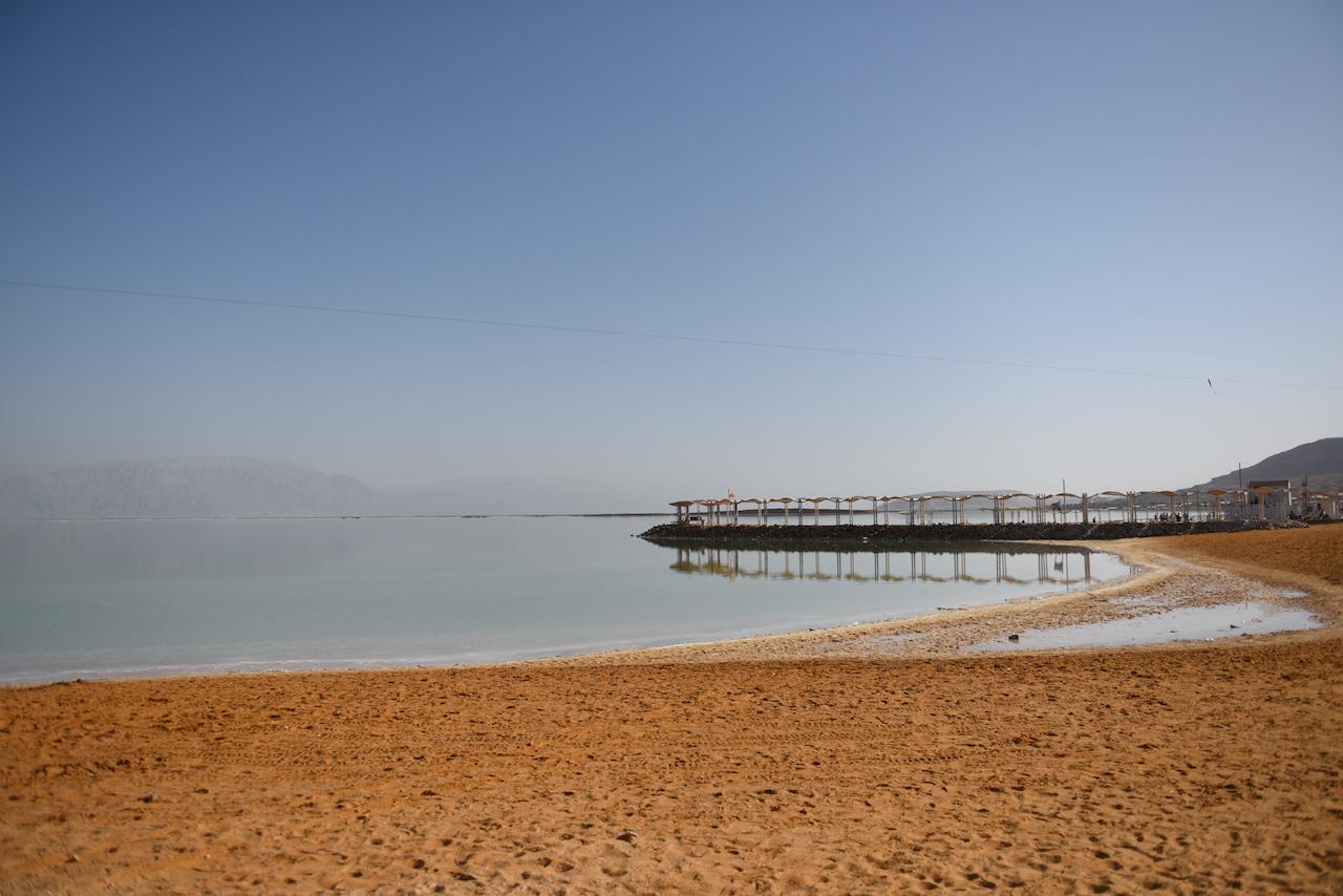 plaża morze martwe