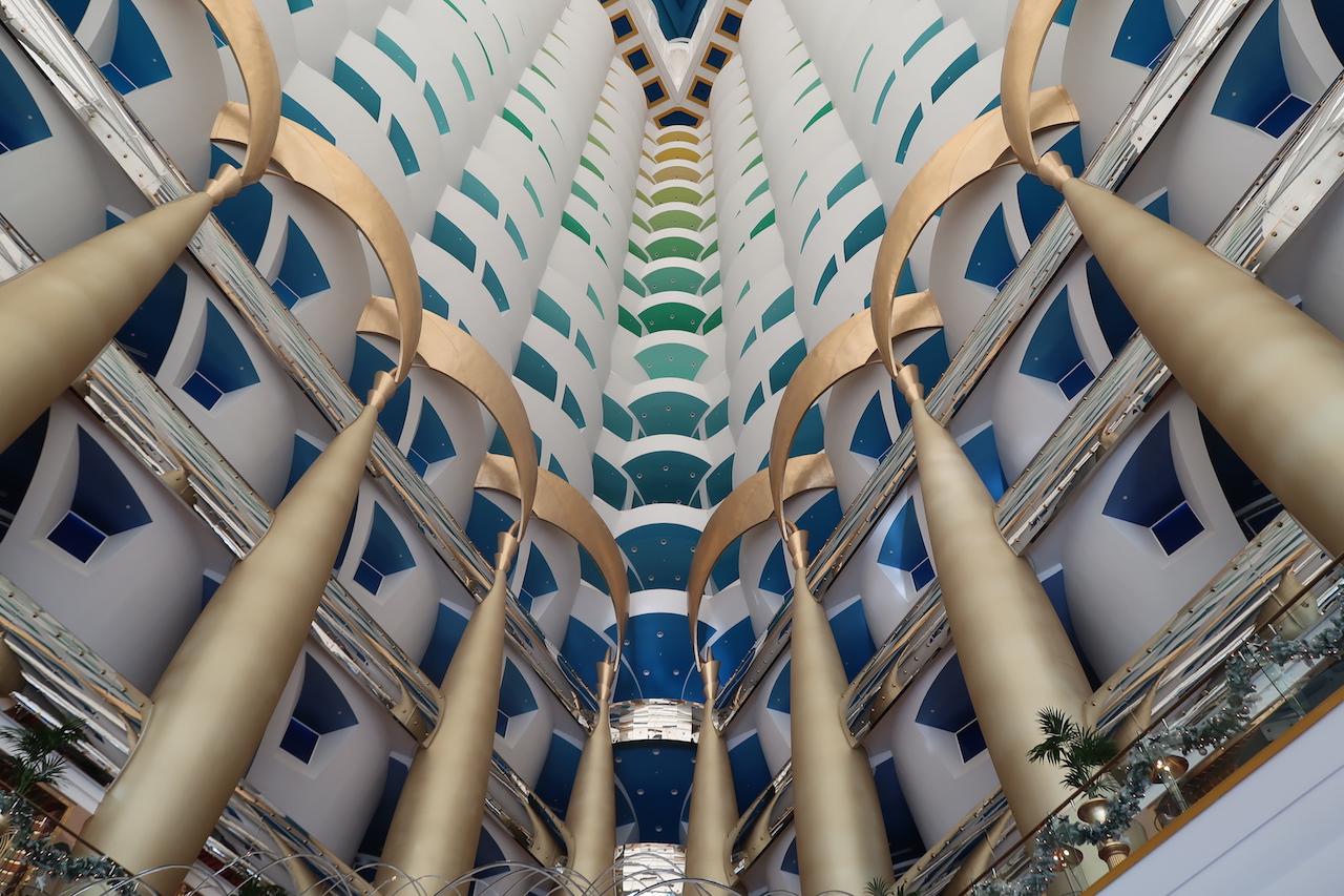 burj al arab w środku