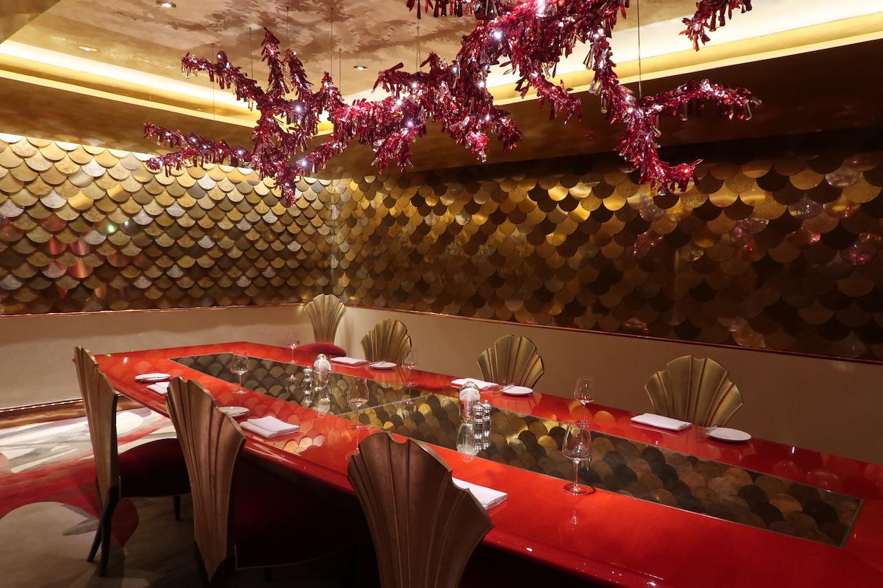 Prywatny pokój w restauracji