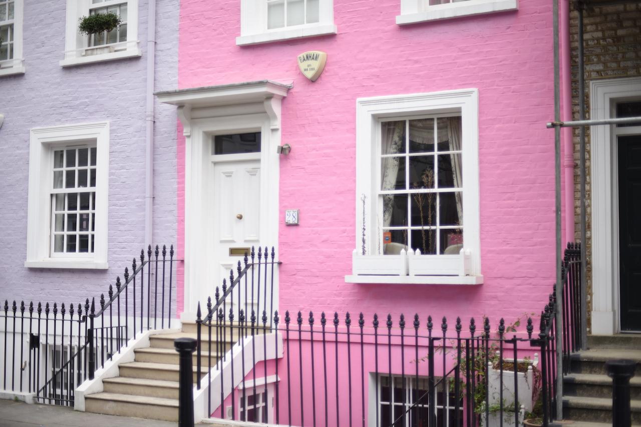 kolorowe domki londyn