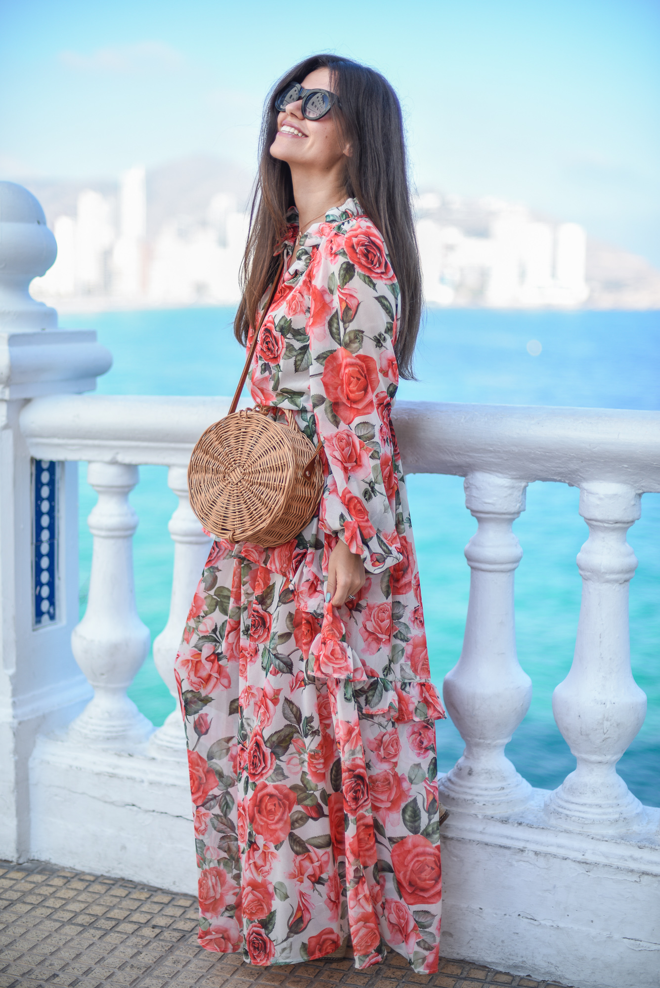 de567cf8555c5e Stylizacja z sukienką maxi | Fashionelka.pl | Bloglovin'