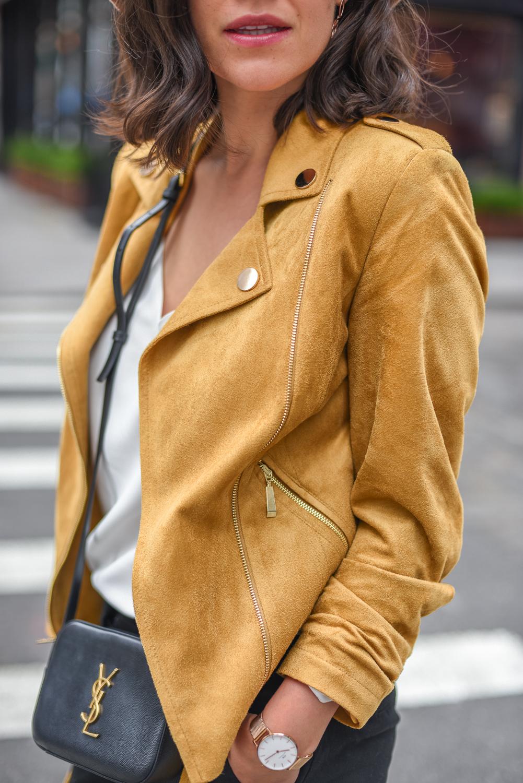 be99fd84d76563 Ramoneska – Tova Torebka – Saint Laurent Bluzka – Tova Spodnie – New Look  Szpilki – Christian Louboutin Kapelusz – Tova Kolczyki – W.KRUK kolekcja  Bali